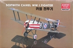 Academy 1/72 Sopwith Camel WWI Fighter