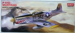 Academy/Minicraft 1/72 North American P-51D Mustang WWII Fighter