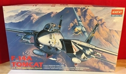 Academy 1/72 F-14A Tomcat U.S. Navy Swing Wing Fighter