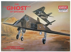 Academy 1/72 The 'Ghost' of Baghdad Lockheed F-117A Stealth Attack-Bomber