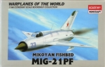 ACADEMY 1/144 Mikoyan MiG-21PF Fishbed