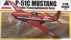 Accurate Miniatures 1/48 P-51C Mustang Bendix Transcontinental Race