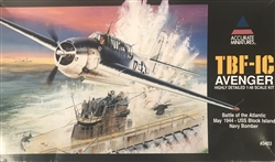 ACCURATE MINIATURES 1/48 TBF1-C Avenger