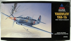 Accurate Miniatures 1/48 Yakolev Yak-1b