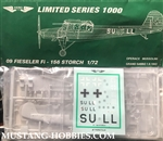 AERO TEAM 1/72 Operace Mussolini Fieseler Fi 156 Storch Limited Series 1000