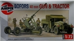 Airfix 1/72 BOFORS 40mm GUN AND TRACTOR