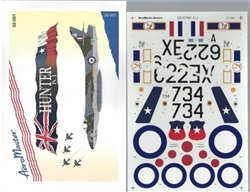 Aero Master Decals 1/32 HUNTER PART 1