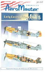 Aero Master Decals 1/32 EARLY EASTERN FRIEDRICH Bf-109G-6 PART 1