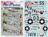 Aero Master Decals 1/32 GREEN NOSE MUSTANGS OF EAST WRETHAM PART 1