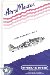 Aero Master Decals 1/48 BUTCHER BIRDS PART 3