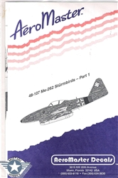 Aero Master Decals 1/48 Me-262 STURMBIRDS PART 1