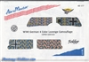 Aero Master Decals 1/48 WWI GERMAN 4 COLOR LOZENGE CAMOUFLAGE (UPPER SURFACE)