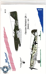 Aero Master Decals 1/48 OPERATION BODENPLATTE PART II JANUARY 1, 1945