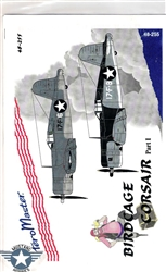 Aero Master Decals 1/48 BIRDCAGE CORSAIR PART I