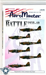Aero Master Decals 1/48 FAIREY BATTLE 1938-40