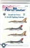 Aero Master Decals 1/48 ISRAELI AIR FORCE F-16A/B FIGHTING FALCONS