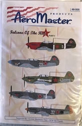 Aero Master Decals 1/48 YAK 1 FALCONS OF THE RED STAR PART 1