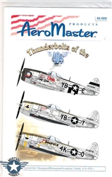 Aero Master Decals 1/48 THUNDERBOLTS OF THE 404 PART 1