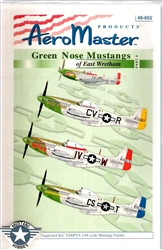Aero Master Decals 1/48 GREEN NOSE MUSTANGS OF EAST WRETHAM PART 5