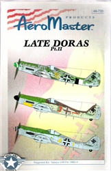 Aero Master Decals 1/48 LATE DORAS PART 2