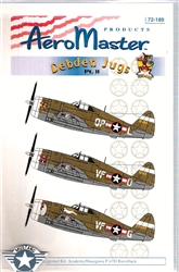 Aero Master Decals 1/72 4th FG DEBDEN JUGS PART 2