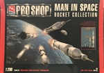 AMT/ERTL 1/200 MAN IN SPACE ROCKET COLLECTION
