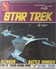 "AMT 1/635 Star Trek Klingon Battle Cruiser From the ""Klingon Warrior Empire"" - as seen on Star Trek"