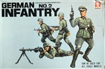 BANDAI 1/48 German Infantry No.2