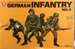 BANDAI 1/48 German Infantry No.3