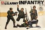 BANDAI 1/48 U.S. Army Infantry No.2