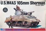 BANDAI 1/48 U.S. M4A3 105mm Sherman