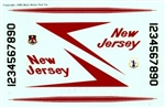 BARE METAL DECALS 1/48 F-106A 177 FIG NEW JERSEY ANG