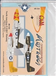 CAM DECALS 1/48 THROUGHBRED MUSTANGS