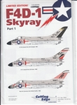 CUTTING EDGE 1/48 F4D-1 SKYRAY PART 1