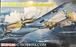 Dragon 1/32 Bf110D1/R1 Dackelbauch Heavy Fighter/Bomber