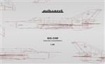 EDUARD 1/48 MiG-21MF Subscriber Limited Edition
