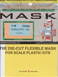 EDUARD 1/48 MASK CANBERRA PR.9 FOR AIRFIX KIT