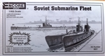"ENCORE MODELS 1/400 Type ""D"", ""S"" & ""L"" classes Soviet Submarine Fleet"