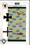 Eagle Strike Productions 1/72 GERMAN LOZENGE CAMOUFLAGE 4 COLOR RIBBING TAPE