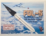 FANTASTIC PLASTIC 1/72 FDL-5 HYPER SONIC RESEARCH CRAFT