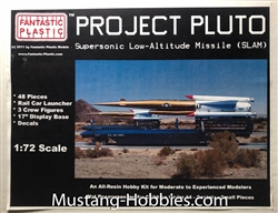 FANTASTIC PLASTIC 1/72 Project Pluto Supersonic Low-Altitude Missile SLAM