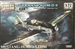 FORCES OF VALOR 1/72 GERMANY FW 190 D-9