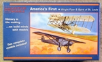 GLENCO 1/00 Wright Flyer and Spirit of St Louis