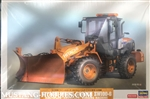 HASEGAWA 1/35 Hitachi ZW100-6 Multi-Plow Wheel Loader (Snowplow) Construction Machinery (New Tool)