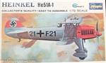 Hasegawa 1/72 German Air Force Fighter Heinkel He51A-1