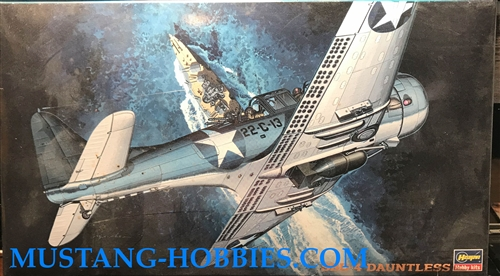 HASEGAWA 1/48 SBD-4 Dauntless