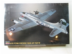 HASEGAWA 1/72 Boeing B-17G Flying Fortress Nose Art Part III