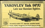 HIGH PLANES MODELS 1/72 Yakovlev Yak-9P/U Late War Russian Fighter