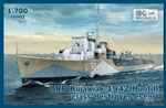 IBG MODELS 1/700 ORP Kujawiak 1942 Hunt II Class Destroyer Escort