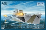 IBG MODELS 1/700 HMS Badsworth 1941 Hunt II Class Destroyer Escort